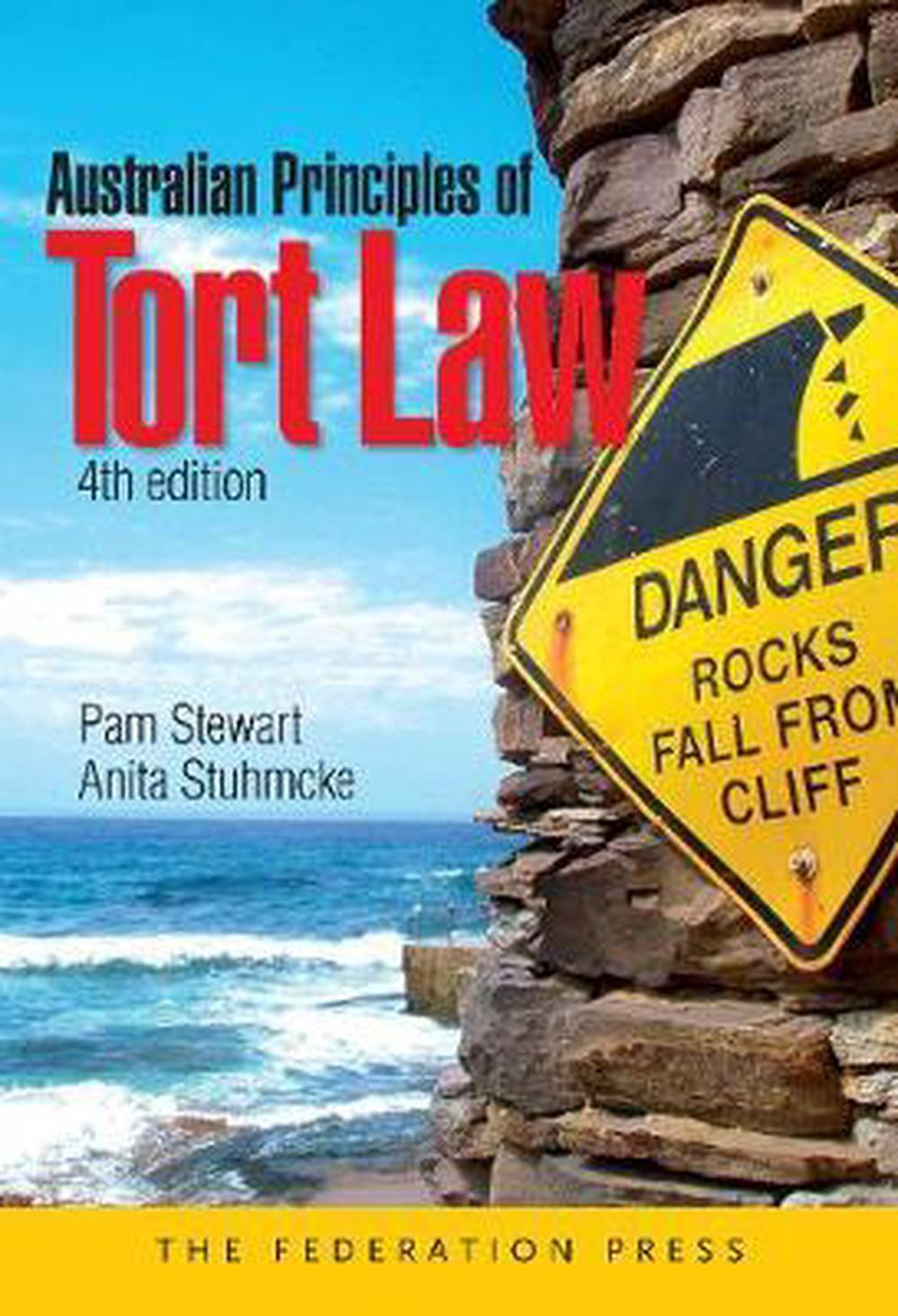 Australian Principles of Tort Law 4th Edition by Pam Stewart Paperback Book Free