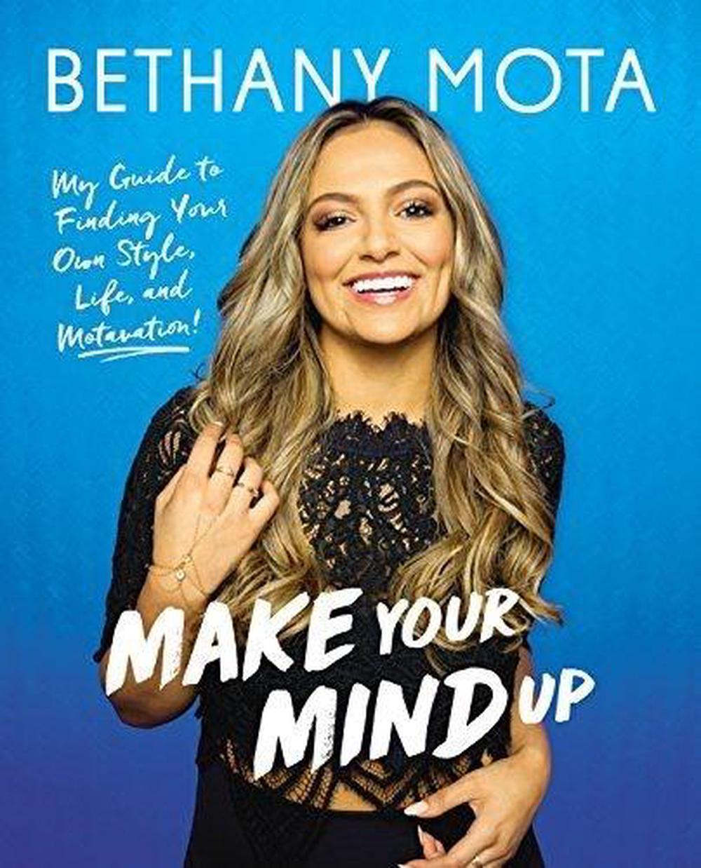 Make Your Mind Up by Bethany Mota Hardcover Book Free Shipping!