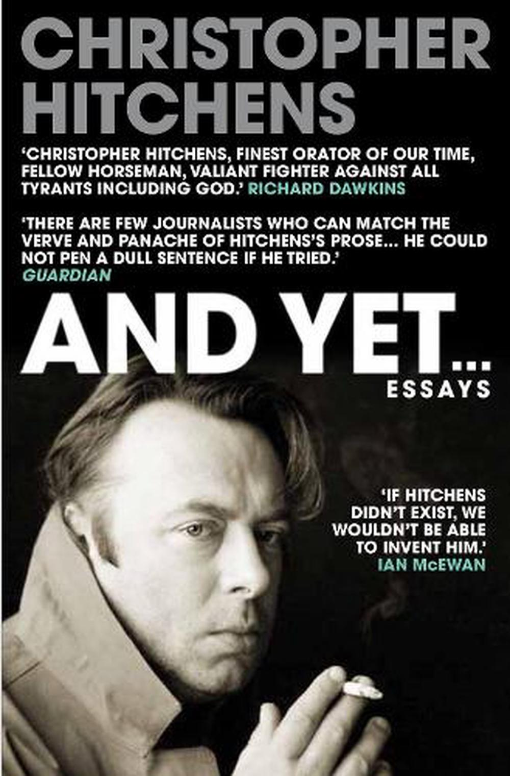 And Yet... by Christopher Hitchens Paperback Book Free Shipping!