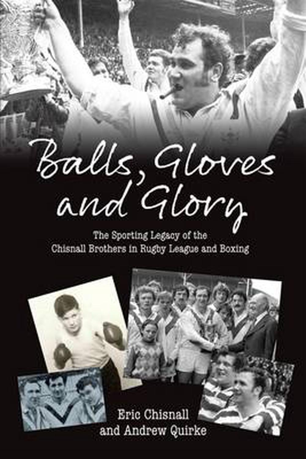 Balls-Gloves-and-Glory-by-Eric-Chisnall-Paperback-Book-Free-Shipping