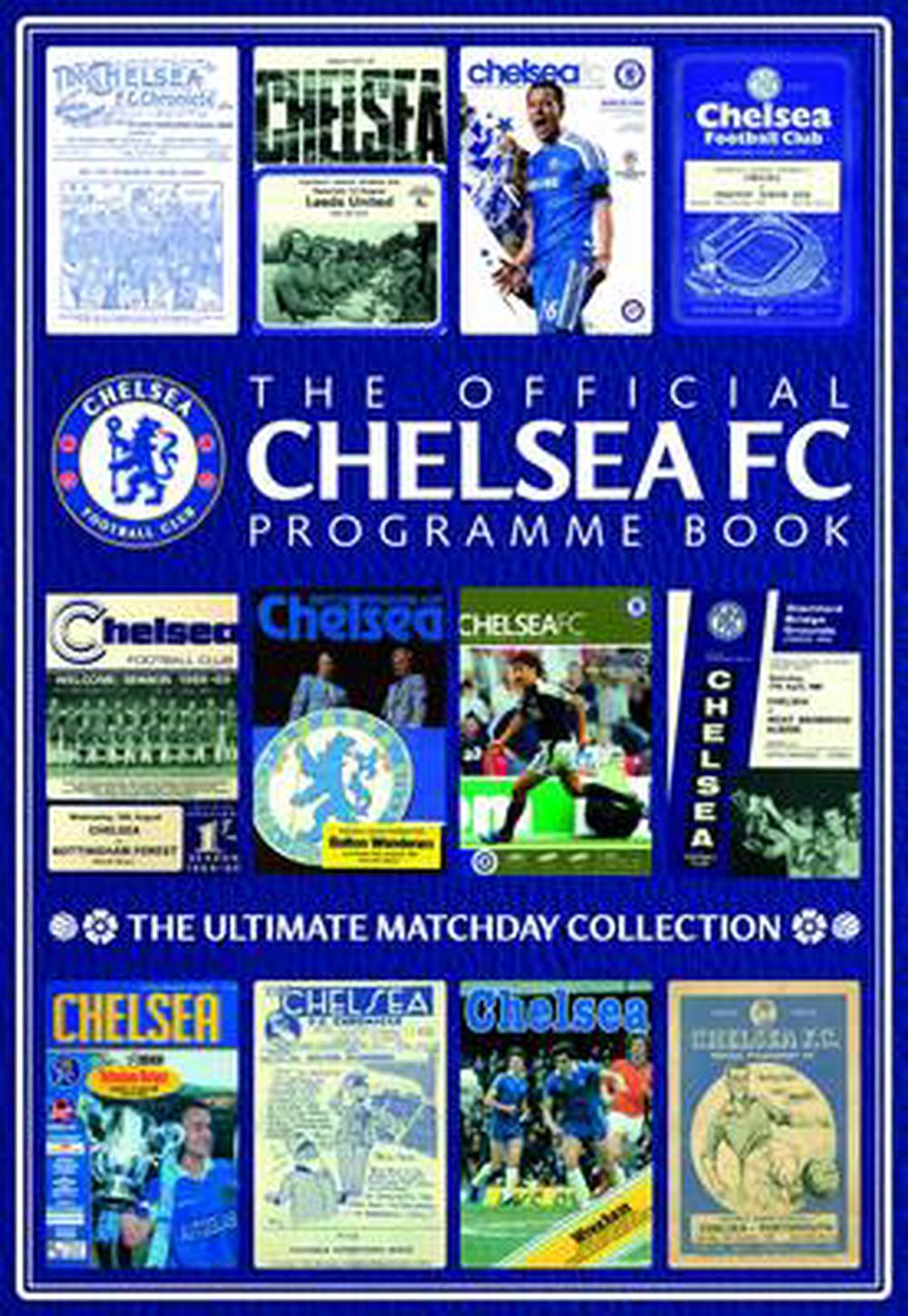Official-Chelsea-FC-Programme-Book-by-Chelsea-F-C-Hardcover-Book-Free-Shipping