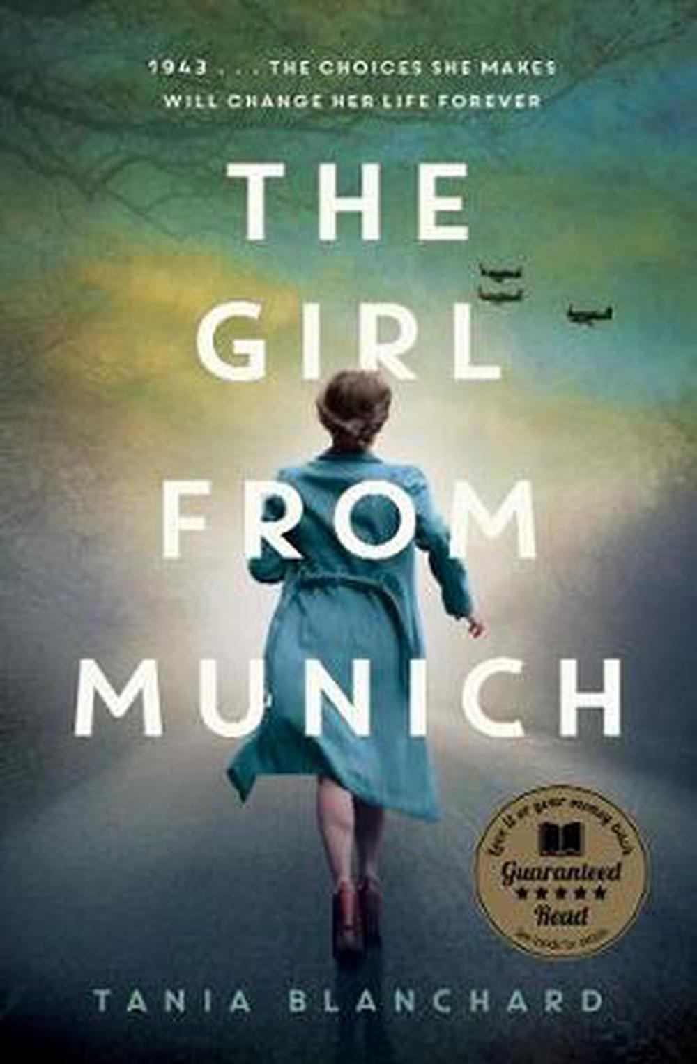 The Girl from Munich by Tania Blanchard Paperback Book Free Shipping!