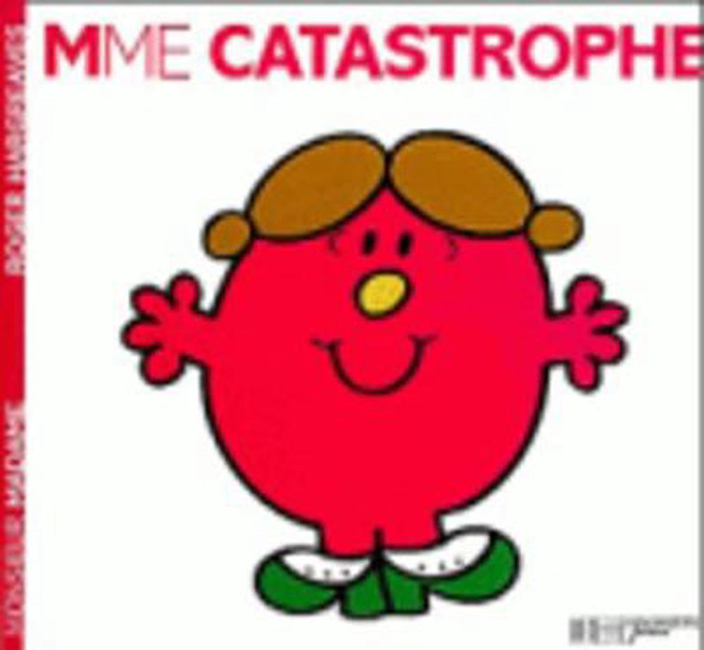 Madame-Catastrophe-by-Roger-Hargreaves-French-Paperback-Book-Free-Shipping