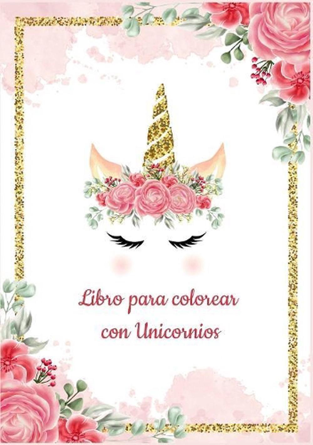 Details About Plantilla De Unicornio Para Colorear Libro Para Colorear Con Unicornios M S